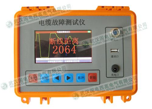电缆故障全自动综合测试仪采用arm+fpga+大点