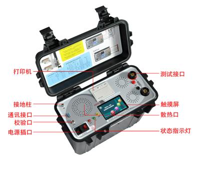 系列智能高精度回路电阻测试仪